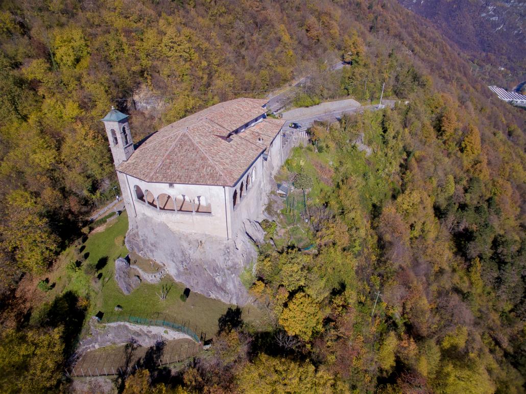Restauro santuario S.Patrizio