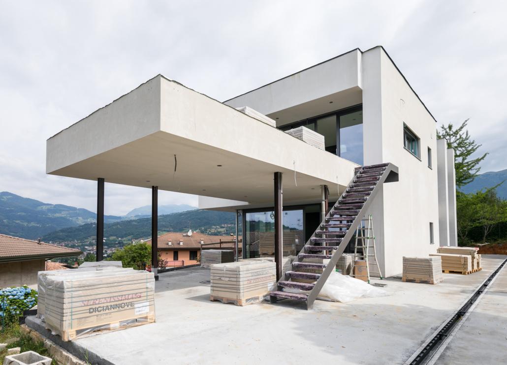 Nuova costruzione a Leffe